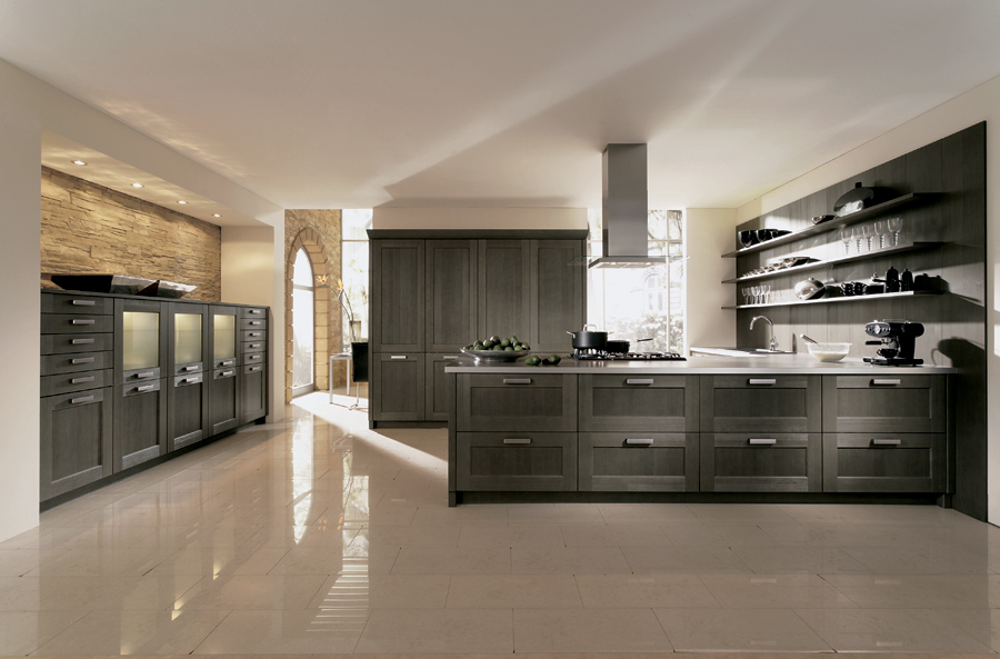 Styleture notable designs functional living for Grey country kitchen