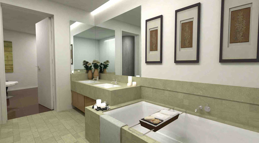 Styleture notable designs functional living for Sm bathroom ideas