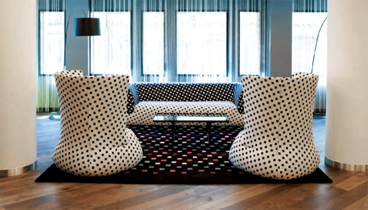 Missoni Hotel Living Space