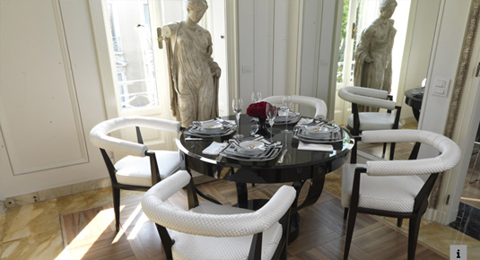 Versace Dining Room Design