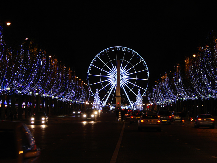 Styleture notable designs functional living spacesbeautiful 2009 christma - Illumination a paris ...