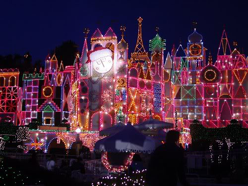 disney world small world - When Is Disney World Decorated For Christmas
