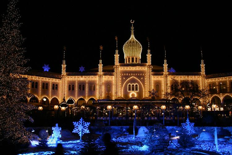 tivoli christmas lights - Christmas Around The World Decorations