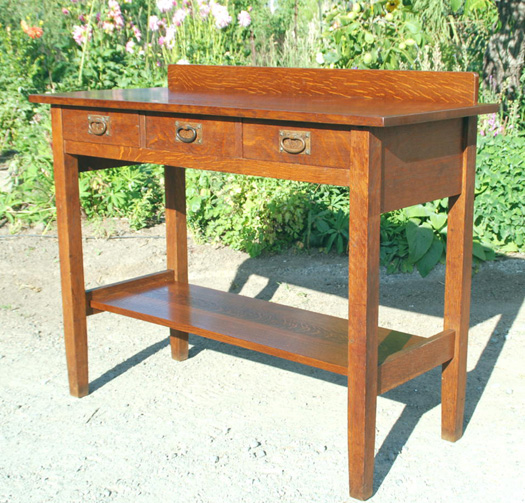 Gustav Stickley three drawer server