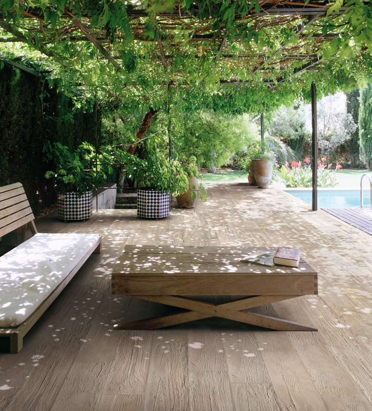 Styleture notable designs functional living for Garden tiles designs