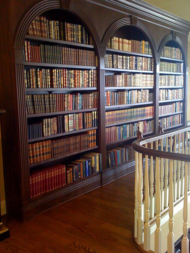 Custom Residential Library Design