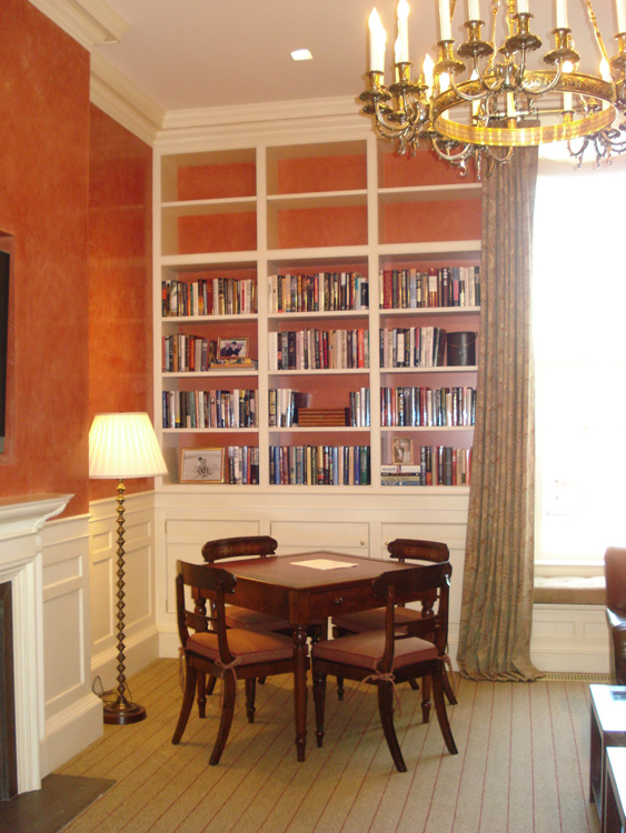 Styleture notable designs functional living for Custom home library design