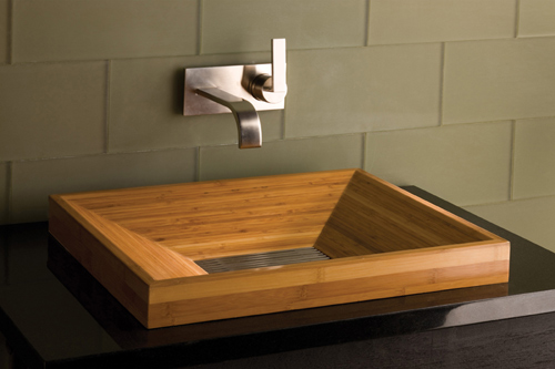 Stone Forest - Bamboo Sink