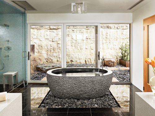 Oval Tub by Stone Forest