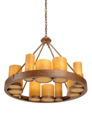 Rustic Lighting Fixture