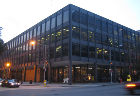 Martin Luther King Jr. Memorial Library in Washington, D.C.