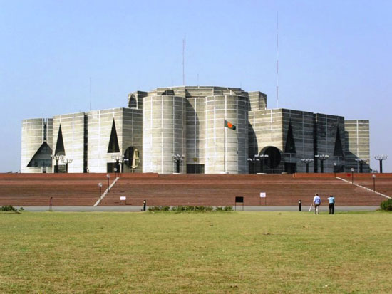 The National Assembly Building of Bangladesh