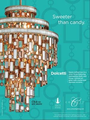 Entra Magazine Corbett Lighting feature