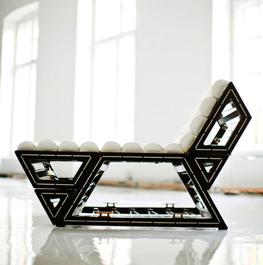 balint kormos\u0027 modular lounge chair in the chaise position luxury chairs g