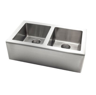 The Pegasus Farmer Apron Front Double Bowl Kitchen Sink