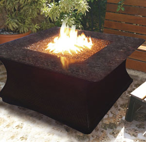 The California Outdoor Concepts Monterey Chat Fire Pit Table