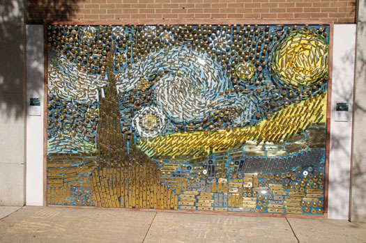 Starry Night Mural at Union Hardware