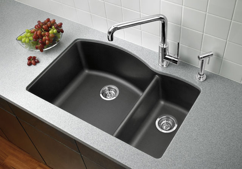 Stone Sink Cleaner : ... and Beautiful: Our Favorite Granite Kitchen Sinks Styleture
